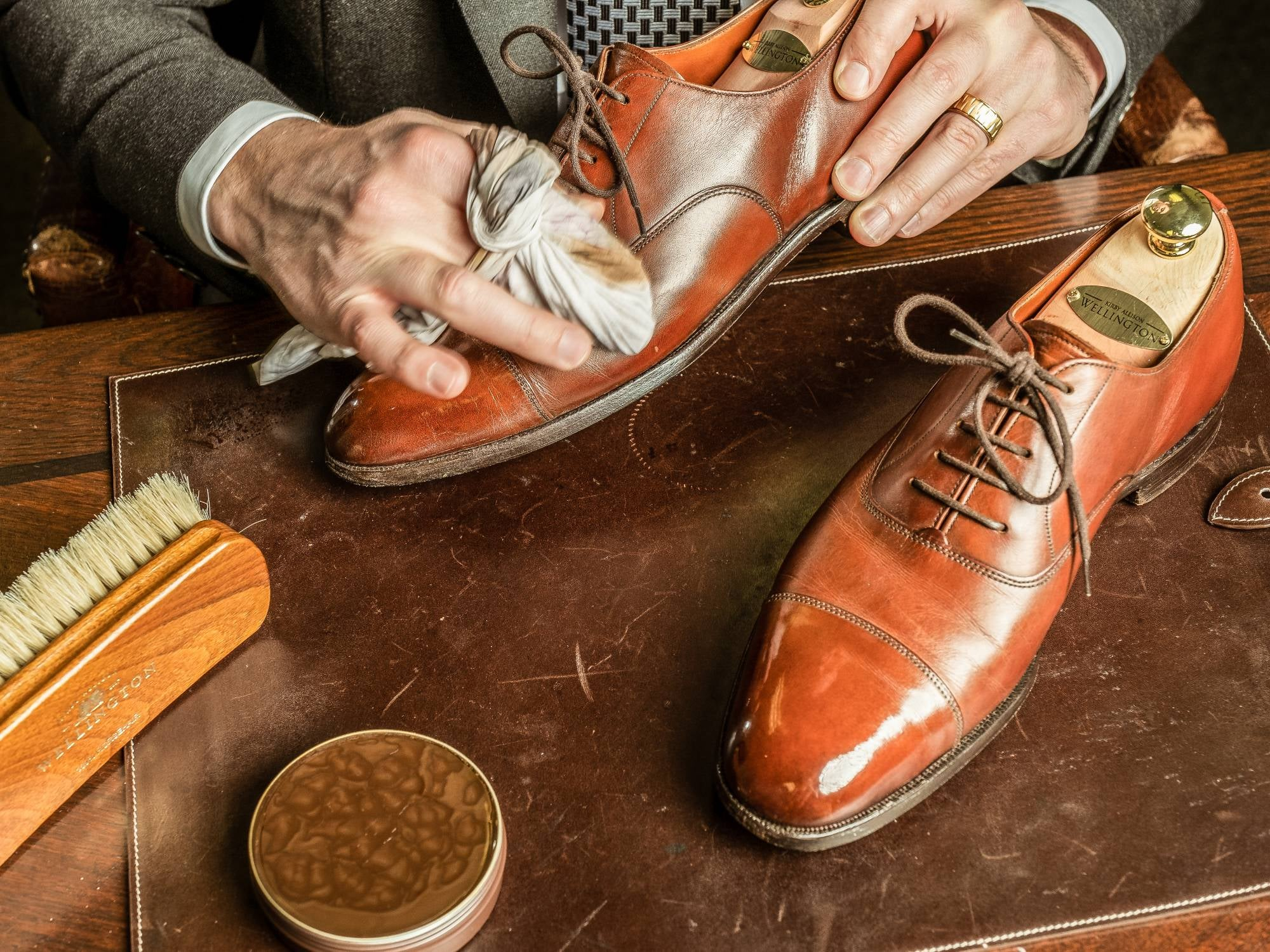 Why do you need the premium shoes to look elegant?